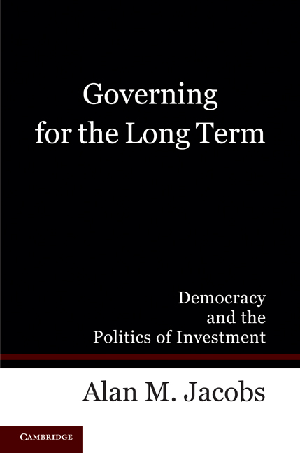 Governing for the Long Term: Democracy and the Politics of Investment