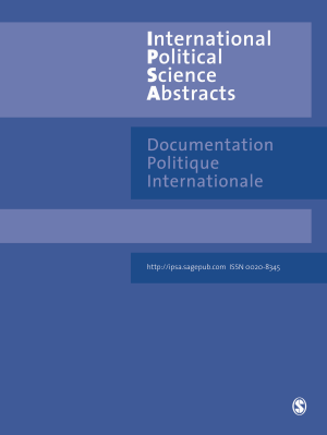International Political Science Abstract