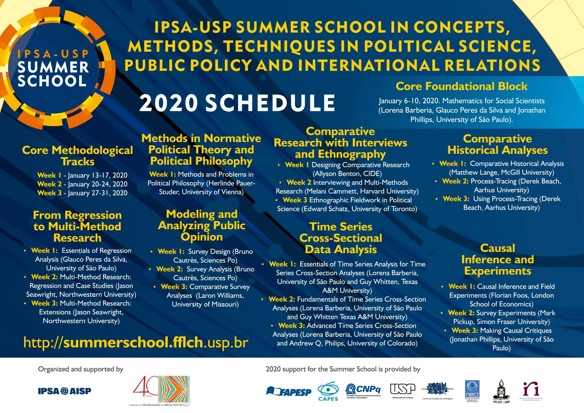 Summer School 2020.Ipsa Summer School Sao Paulo Ipsa