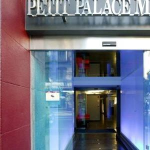 Petit Palace Mayor Plaza entrance