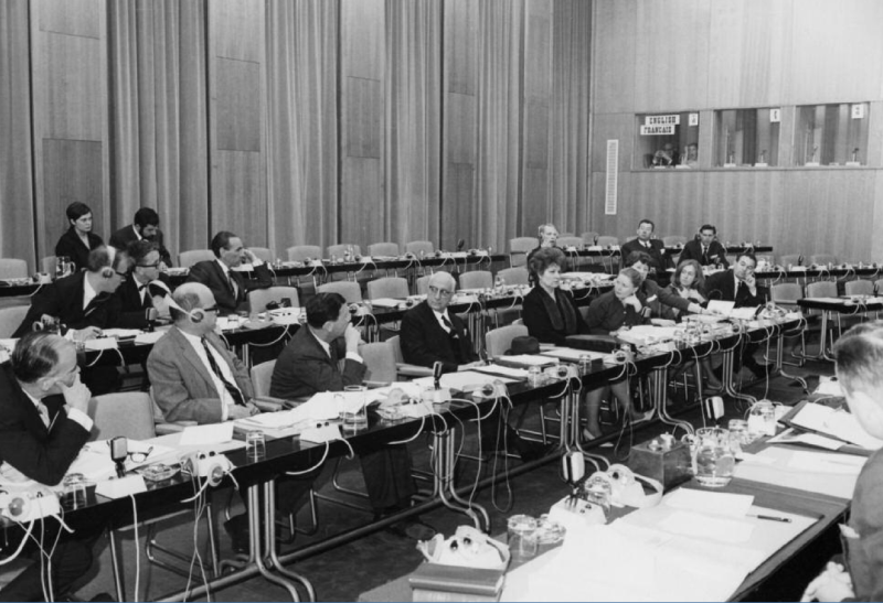 Session of the VIIthWorld Congress in Brussels, 1967