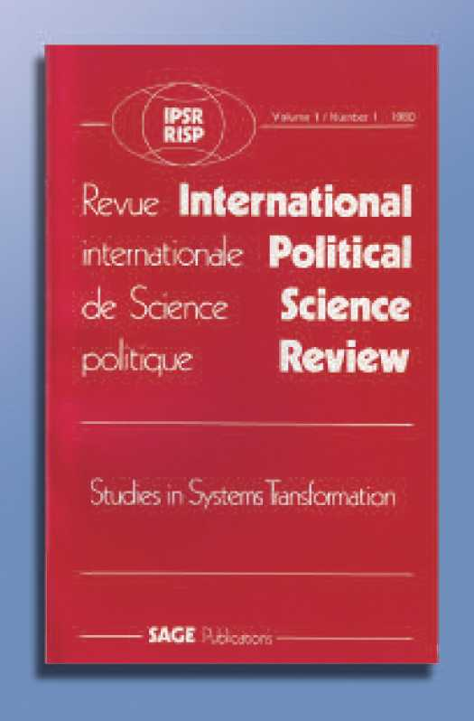 Volume 1, no. 1 de la Revue Internationale de Science Politique – 1980