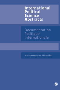 International Political Science Abstracts